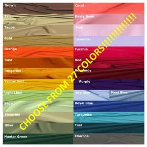 "Choose from 27 Colors"" Panel"