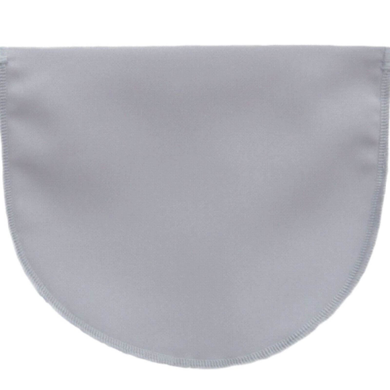 Grey Modesty panel with no lace