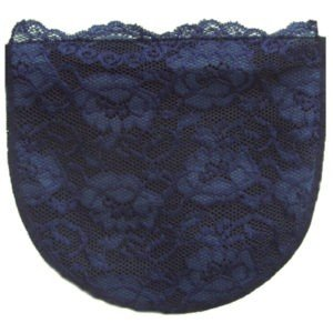 Navy Full Lace Modesty Panel