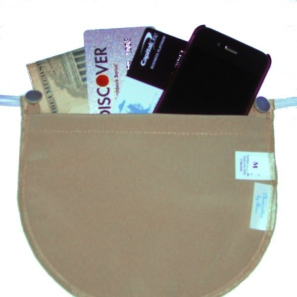 Tan Bra Pocket